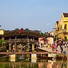 Pagoda Bridge, Hoi An, Vietnam by John Raftery