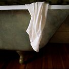 White Shirt Draped on Tub by Jing3011