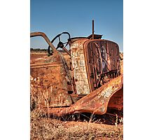 Wrecked Photographic Print