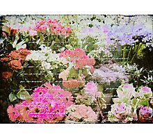 The Florist Shop Photographic Print