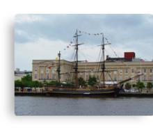 Pirates of the Caribbean Ship Canvas Print
