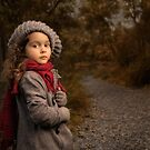 Red Scarf by Bill Gekas