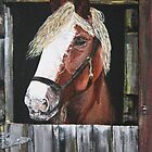 At The Stable Door by Judy Bergmann