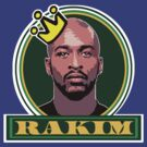 """HIP-HOP ICONS: RAKIM"" by S DOT SLAUGHTER"