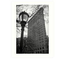 The Flatiron Building, New York City Art Print