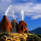 Fly Geyser by Bob Christopher