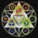 The Legend of Zelda: Ocarina of Time - Spiritual StoneTriforce! by FilipeFL3
