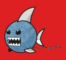 Yarn shark (blue) Kids Clothes