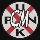 CM Punk Railroad Sign by Eric Cormier
