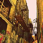 Fire Escape Alley by luckoftheirish