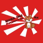 "Shiba Inu: ""It's not Japanese for Dingo"" - Red T-Shirt by steenium"