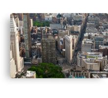 Flatiron District - NYC Canvas Print