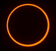 Annular Solar Eclipse by Jim Stiles