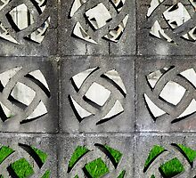 Cement Fence © by Ethna Gillespie