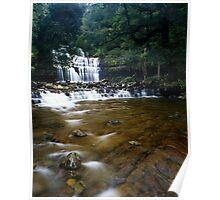 """Liffey Falls"" ∞ Liffey, Tasmania - Australia Poster"