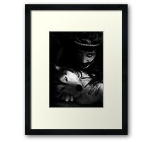 partners in darkness Framed Print