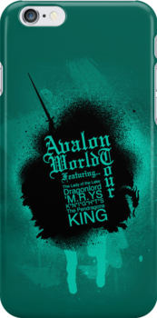 Avalon World Tour Iphone by KitsuneDesigns