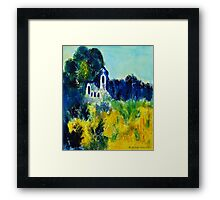 At one with nature Framed Print