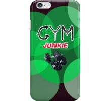 Gym junkie clothing iPhone Case/Skin