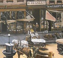 Commercial Place, Norfolk, Virginia, 1912 by Jsimone