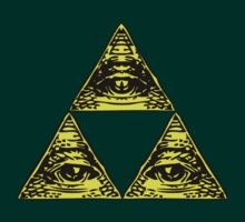 All Seeing Tri-Force by 1up Apparel