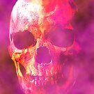 Skull beneith the skin,tribute to vic rattle head by John Ryan