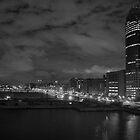 A Storm Outside My Window [B&W] by peterrobinsonjr