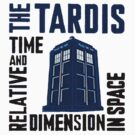 Doctor Who Time and Relative Dimension In Space by RMMU118