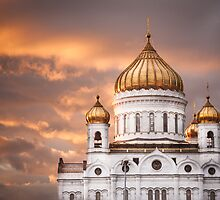 Moscow - the golden hour by Cvail73