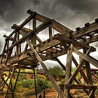 Goldfield Ghost Town - The Bridge  by Saija  Lehtonen