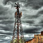 Goldfield Ghost Town - Stormy Skies  by Saija  Lehtonen