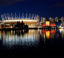Vancouver British Columbia Skyline by Bob Christopher