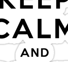Keep Calm and Drive VW (Version 02) Sticker
