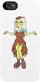 Lisa Goes Gaga - Meat Dress by SexyUgly