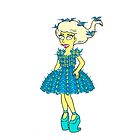 Lisa Goes Gaga - Humming Bird Dress by SexyUgly