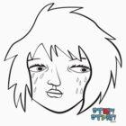 Crying Girl by Sean Cuddy