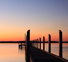 Wattle Point Jetty by lisamariesandy