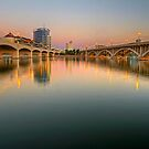 Tempe Town Lake by Sue  Cullumber
