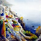 Memories of Santorini #4 by Ivana Pinaffo