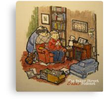 Sherlock, John, & The Baker Street Babes 2 Canvas Print