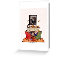 Holmes, Watson, & The Baker Street Babes Greeting Card