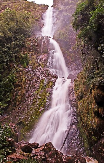 Montezuma Falls - Tasmania's Highest Waterfall (2) by TonyCrehan