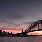 Sydney at sunset by KeithMcInnes