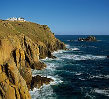 Lands End, Cornwall, England, UK, 1990 by David A. L. Davies