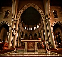 St Mary of the Angels Interior by STEViE VOiCE