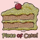 Maze Shirts: Piece of Cake! by melaiken