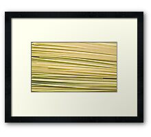 S P Abstract Framed Print
