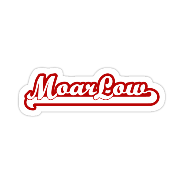 Moar Low (red/wht) by Benjamin Whealing