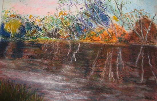 The goulburn river by GEORGE SANDERSON