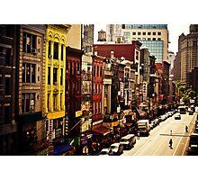 Above Chinatown - New York City Photographic Print